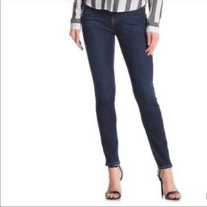 7 For All Mankind Dark Wash Gwenevere Skinny Jeans